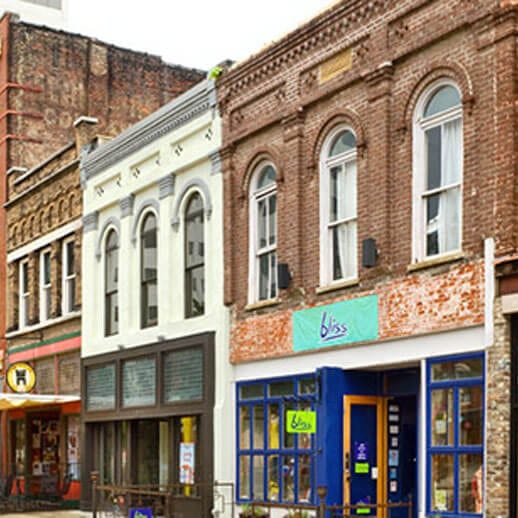 Regas Square | Downtown Knoxville Neighborhood